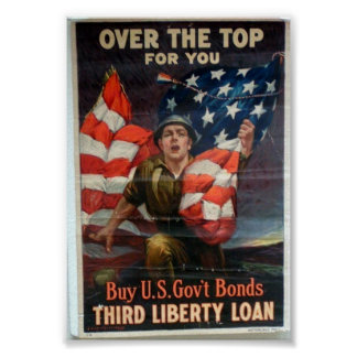 WW1 Over The Top Poster