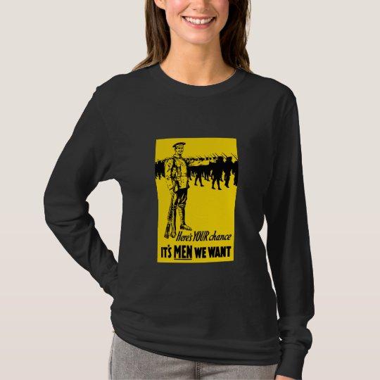 WW1 Recruiting Poster T-Shirt