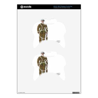 WW1 soldier Marine Sketch Xbox 360 Controller Decal