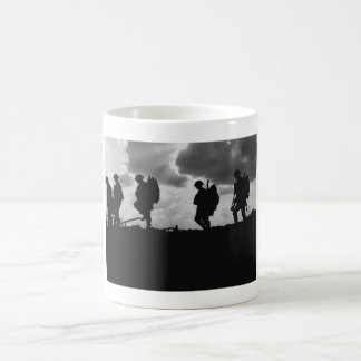 WW1 Soldier Silhouettes - Battle of Broodseinde Coffee Mug