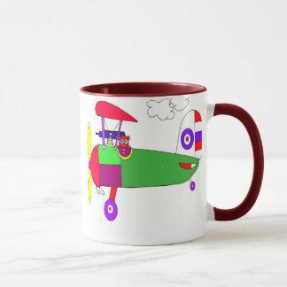 ww1 Spad old time airplane Mug