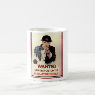 WW2 AFS Recruitment Poster Coffee Mug