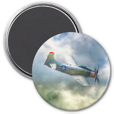 WW2 Airplanes AIR FORCE RAIDERS Magnet