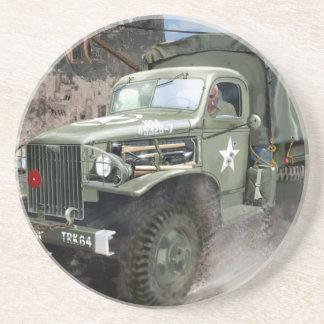 WW2 American Army Truck Coaster
