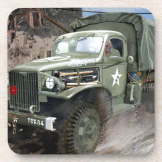 WW2 American Army Truck Drink Coaster