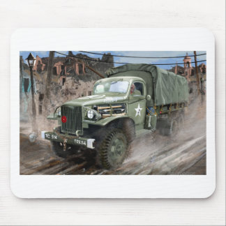 WW2 American Army Truck Mouse Pads