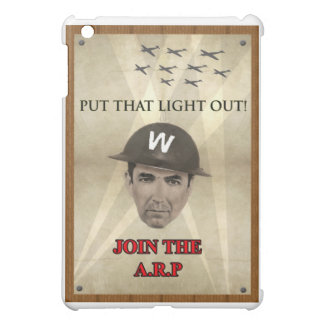 WW2 ARP Recruiting Poster Cover For The iPad Mini