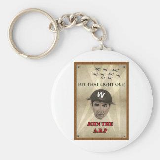 WW2 ARP Recruiting Poster Keychain