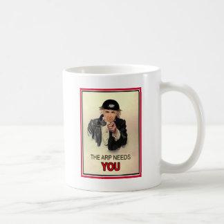 WW2 ARP Recruitment Poster Coffee Mug