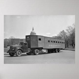 WW2 autobús Trailer, 1942 Póster