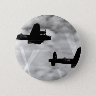 WW2 Avro Lancaster Bomber Button