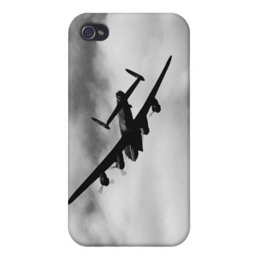 WW2 Avro Lancaster Bomber iPhone 4 Case