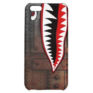 WW2 bomber shark teeth Case For iPhone 5C