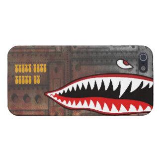 WW2 bomber shark teeth iPhone 5 Cover