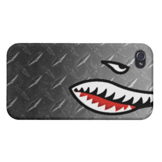 WW2 bomber shark teeth world war plane jet sea coo iPhone 4/4S Cases