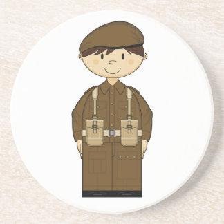WW2 British Army Private Coaster