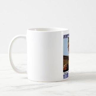 WW2 Bull Halsey Poster mug