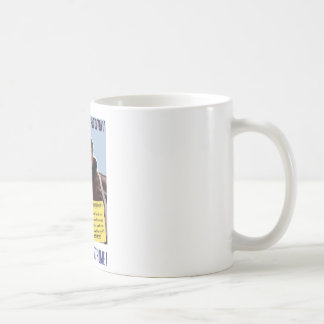 WW2 Bull Halsey Poster Coffee Mugs