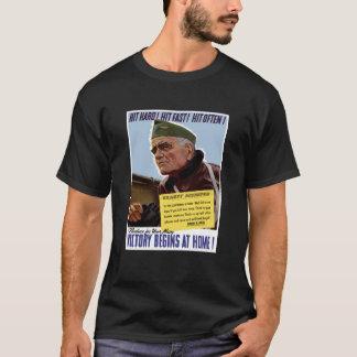 WW2 Bull Halsey Poster T-Shirt