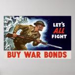 WW2 -- Buy War Bonds Posters