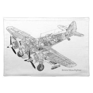 WW2 corte de la Royal Air Force Bristol Mantel