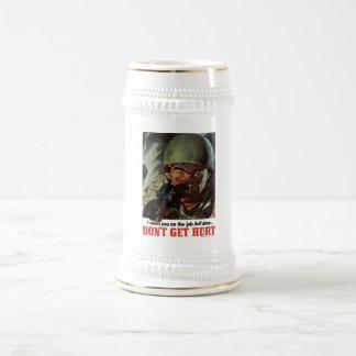 WW2 -- Don't Get Hurt Mugs
