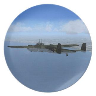 WW2 Dornier Do17 Bomber Plane Plate