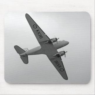 WW2 Douglas DC3 Transport Plane Mousepad