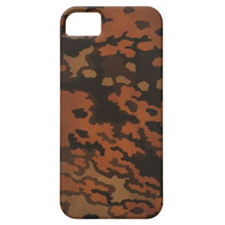 WW2 Germany forces Oak Leaf camouflage (in autumn) iPhone SE/5/5s Case