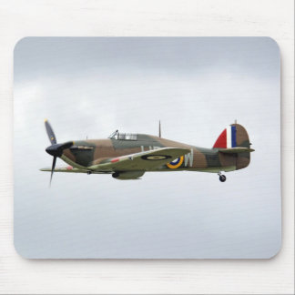 WW2 Hurricane Fighter Plane Mouse Pad