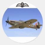 WW2 Hurricane Fighter Plane Sticker