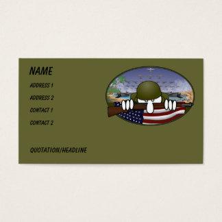 WW2 Kilroy Business Card