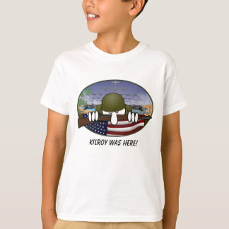 WW2 Kilroy Kids T-Shirt