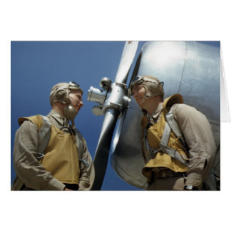 WW2 Marine Corps Aviators Card