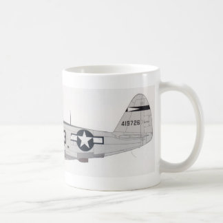 ww2 p-47 coffee mug