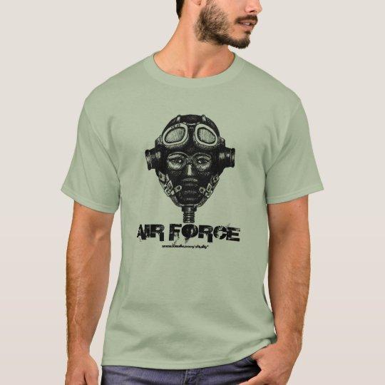 WW2 pilot in helemet cool graphic art t-shirt