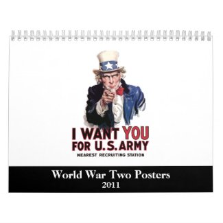 WW2 Poster Calendar -- 2011 calendar