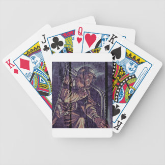 """WW2 Poster """"jump"""" Bicycle Playing Cards"""