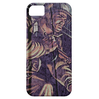 """WW2 Poster """"jump"""" iPhone SE/5/5s Case"""