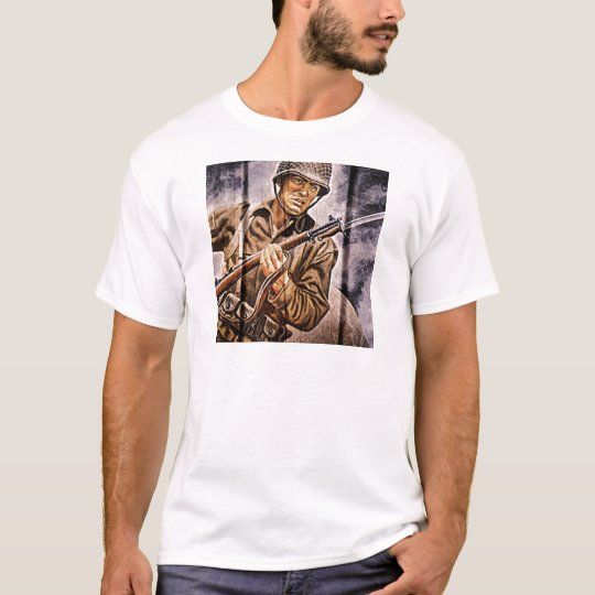 WW2 Poster Soldier T-Shirt