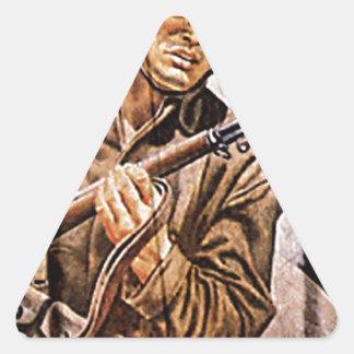 WW2 Poster Soldier Triangle Sticker