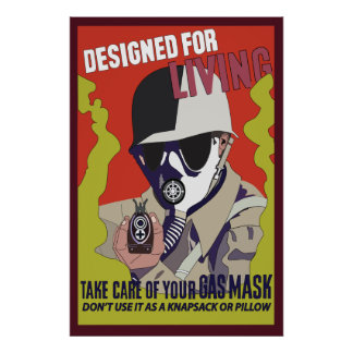 War Gas Posters | Zazzle