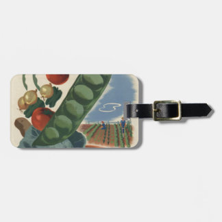 ww2 poster Victory garden Travel Bag Tags