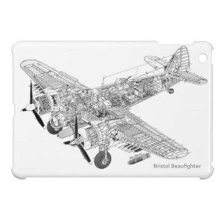 WW2 RAF Bristol Beaufighter Cutaway iPad Mini Case