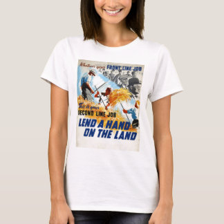 WW2 Recruiting Poster Apparel T-Shirt