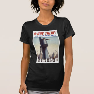 WW2 Recruiting Poster Apparel T Shirts