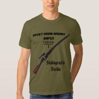 WW2 Sniper Shirt - Soviet Russian Mosin Nagant !