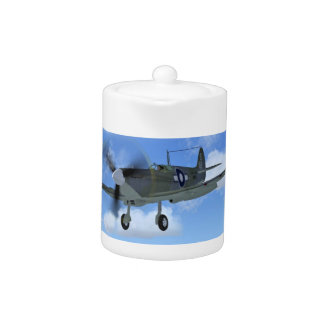 WW2 Spitfire Mk3 Fighter Plane Teapot