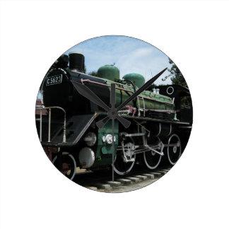 WW2 Steam Train at the River Kwai Bridge Clocks