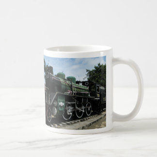 WW2 Steam Train at the River Kwai Bridge Coffee Mug